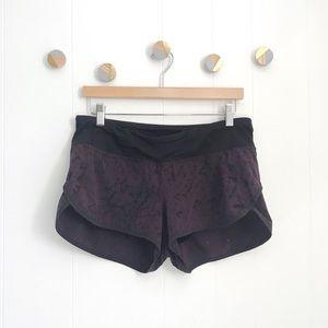 Lululemon Star Crushed Speed Shorts Purple | 8